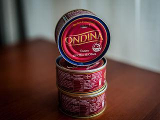Ton  (Original din Italia) тунец натуральный в оливковом масле