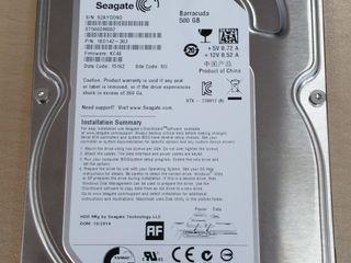 Hdd 500 gb pentru calculator de masa.