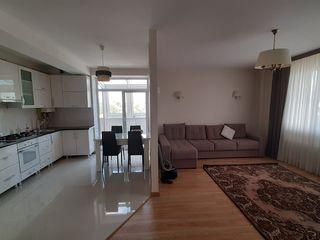 Apartament bilateral cu 3 camere + living, 99 mp, mobilat și utilat! Bloc nou, Durlești