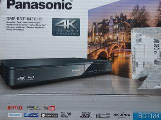 Абсолютно новый 4К Blu-ray player Panasonic dmp bdt 184.