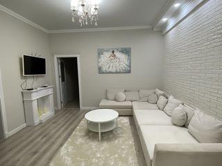 Se ofera în chirie apartament cu 2 dormitoare + living, Centru Lev Tolstoi 74