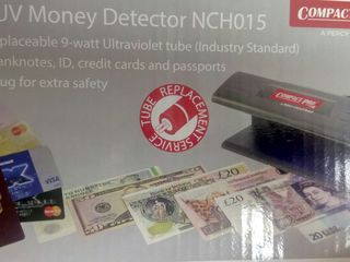 Vand UV Detector bancnote.