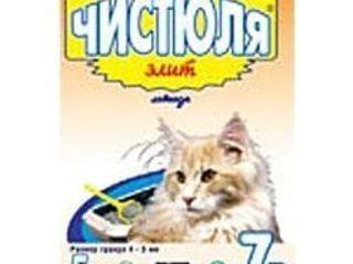 Чистюля элит наполнитель для кошачьего туалета - 5 кг