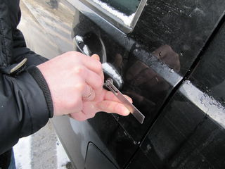 Открывание автомобилей