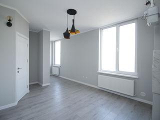 Opteaza pentru calitate si pret! 1 camera+ living, bloc nou din caramida, Buiucani, reparatie!