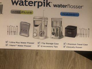 Waterpik 2в1 чистка зубов и полости рта