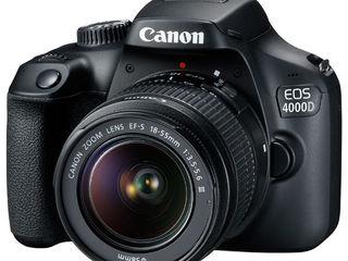 Canon EOS 4000D kit super pret!