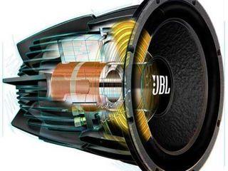 Профессиональный ремонт динамиков и настройка акустики.