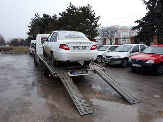 Evacuator Chisinau - Moldova /Услуги эвакуатора, эвакуатор Молдова, Европа,24/24