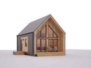 Энергоэффективный дом в стиле Барнхаус