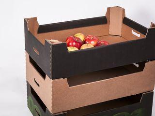 Картонные лотки для фруктов и овощей!!! Супер цена от 14.50 лей.