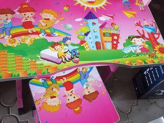 Детские парты новые сo стульчиком шок цена  599 лей!