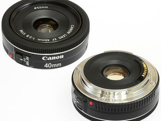 Объектив Canon 40mm 2.8 STM, 17-85 IS USM.