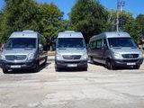 Transport pasageri, rute ocazionale si turistice: microbuz, autobuz, minivan, automobile