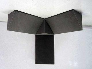 "Panele acustice ""Piramidă"", bass trap. Акустические панели «Пирамида». Бас ловушки.  Недорого!"