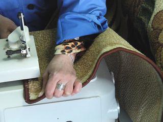Оверлок ковров и ковровых изделий - химчистка Чистюля