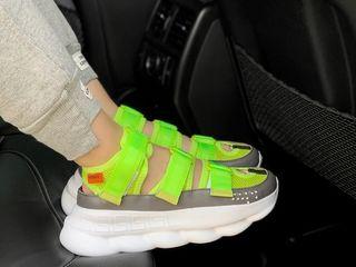Versace Sandals Green женские