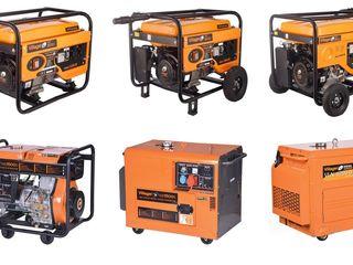 Generatoare/генераторы бензиновый и дизель !echipate cu motoare euro ii ! credit
