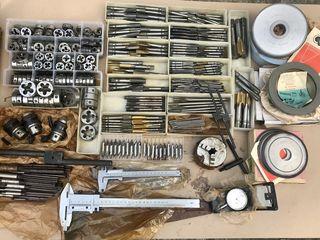 Токарный инструмент СССР новый..патроны,резцы,свёрла,метчики,лерки