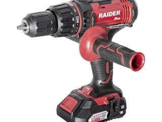 Акумулаторна ударна бормашина set Raider rdp-scdi20/garantie 12 luni/promo 2999 lei