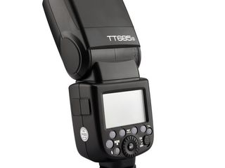 Вспышка Godox TT685S для Sony Multi Interface,Батручка для Sony A6000,6300,аксессуары на Sony
