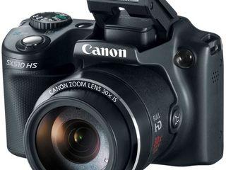 Vând Canon sx510 hs + card memorie cadou 16 gb