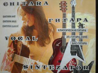 Студия гитары, клавишных инструментов и вокала