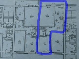 Vând apartament cu documente de înregistrare- Or. Orhei