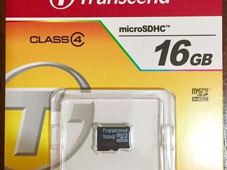 vind ieftin cartele de memorie 16GB micro SD- transcend
