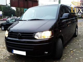 VW Multivan 7 locuri cu fără șofer transfer auto aeroport hotel Chișinău chirie arenda minivan