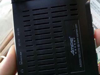 """Ampe A502H Регистратор Двумя объективами Full HD 1080 P 4.3 """"TFT LCD g-сенсор"""