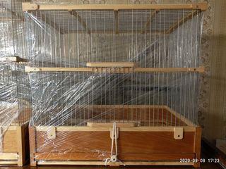 Клетка ручной работы. Для канареек, амадин и любых певчих птиц.