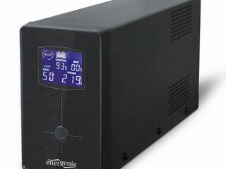Vand UPS Gembird EnerGenie EG-UPS-034, LCD display, 1500VA / 900W