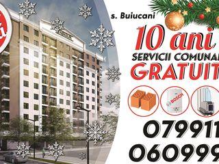 VASIGUR GRUP - s. CENTRU și BUIUCANI din cărămidă roșie.PROMOȚIE-10 ani servicii comunale GRATIS