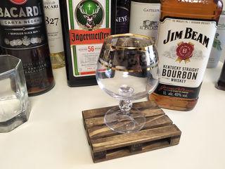 Стильные мини–поддоны подставки под стаканы