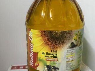 Ulei din floarea soarelui de la producator 17 lei/litru