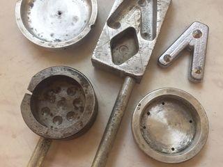 Тигель и формы для отливки грузил
