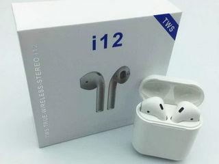 Наушники беспроводные i12 tws+ Бесплатная доставка