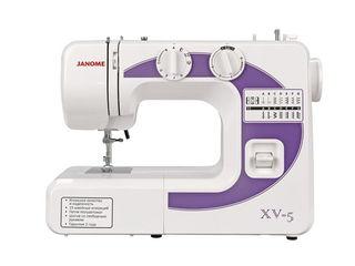 Швейная машина Janome XV-5 (Гарантия 3 года, доставка по Молдове, Кредит!)