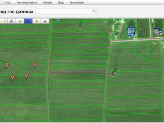 4 участка по 10 соток под строительство, в сел.Страстены (окраина), 2км.от Кишинева н-тив Бачой