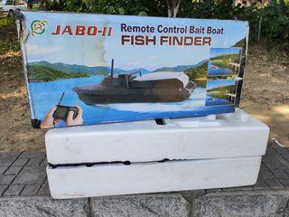 Barca jabo 2 pentru pescuit nadit - прикормочный кораблик