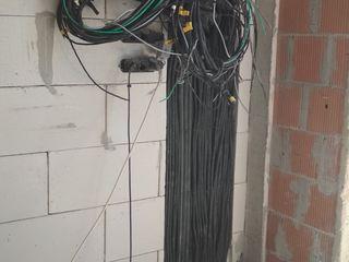 Electrician /Электромонтажные работы (case, vile, apartamente, oficii, etc.)