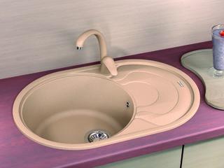 Раковина для кухни, Бренд: (Florentina), Модель (Rodos 760). Качество Премиум. Гарантия 20 лет