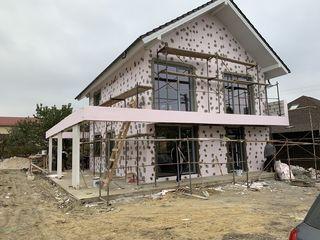Casa cu 2 nivele-160 mp,terasa,beci,teren -6 ari! Curind finisam lucrările!