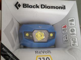 Налобный походный профи фонарь diamond 110 lumens 50e