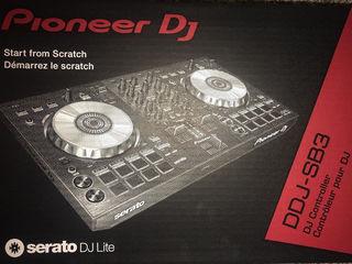 Pioneer DDJ-SB3 DJ Контроллер и Наушники Pioneer HDJ-1500-S. Новый запечатанный в упаковке.