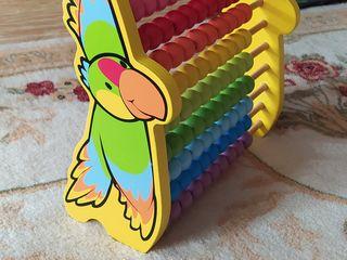 Детский конструктор 1-5 лет. Fischer-Price, деревянные счеты Hape