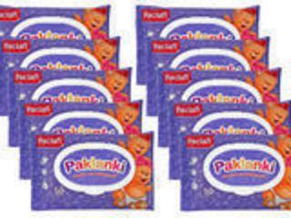 Paklanki -пакеты ароматизированные для использованных подгузников 50 шт.