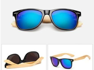 Солнцезащитные очки  из бамбука!