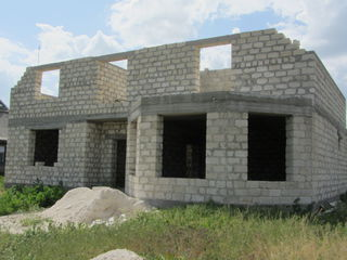 Срочно продаю недостроенный дом, г. Слободзея, ПМР